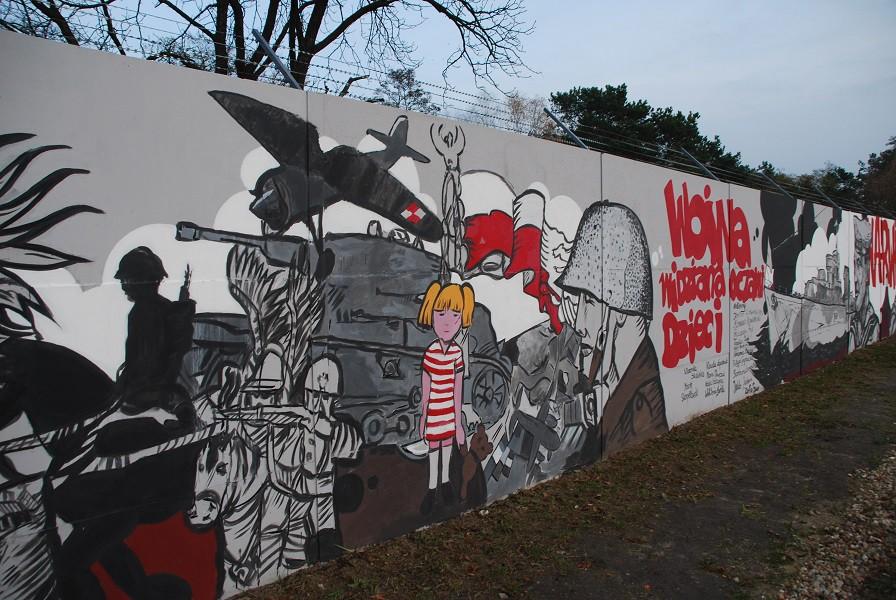 Najwi kszy mural historyczny w europie oficjalnie ods oni ty for Mural legionowo
