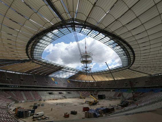 Kerakoll the greenbuilding company na budowie stadionu for Keracem pronto