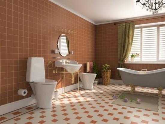 Azienka tapety farby czy p ytki for Bathroom design stores
