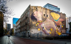Chemia budowlana - Fot. OS GEMEOS & ARYZ, 2012, Łódź, photo from the Urban Forms Archive